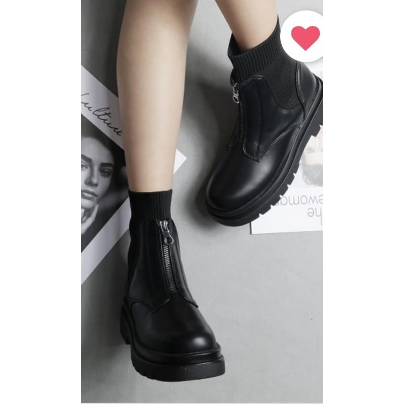 Chaussure noir petit talon pas cher